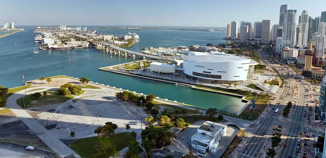 Slip for Upark at American Airlines Arena, Miami